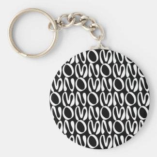 OMNOMNOMNOM 2 Black Keychain