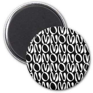 OMNOMNOMNOM 2 Black Magnet