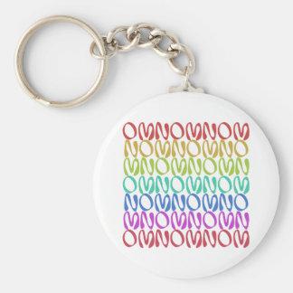 OMNOMNOMNOM 3 Rainbow 1 Keychain