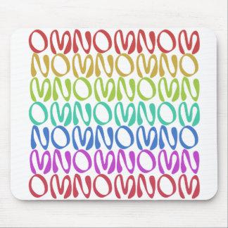 OMNOMNOMNOM 3 Rainbow 1 Mousepads