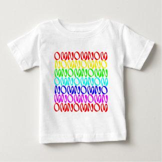 OMNOMNOMNOM 4 Rainbow 2 Baby T-Shirt