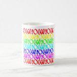 OMNOMNOMNOM 4 Rainbow 2 Classic White Coffee Mug
