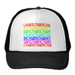 OMNOMNOMNOM 4 Rainbow 2 Mesh Hats