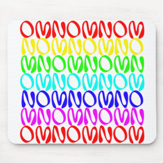 OMNOMNOMNOM 4 Rainbow 2 Mouse Pad