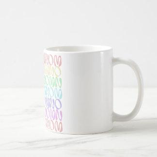 OMNOMNOMNOM 5 Rainbow 3 Coffee Mug