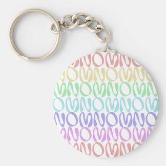 OMNOMNOMNOM 5 Rainbow 3 Keychain