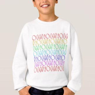 OMNOMNOMNOM 5 Rainbow 3 Sweatshirt