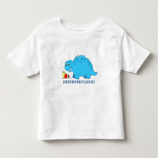 OmNomNomosaurus - camiseta linda del dinosaurio Playeras
