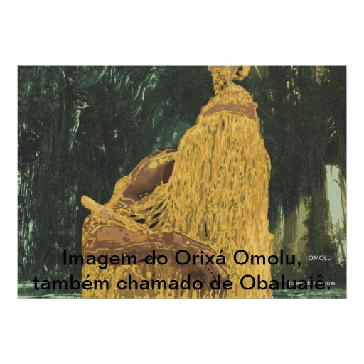 Omolu / Obaluaiê Posteres