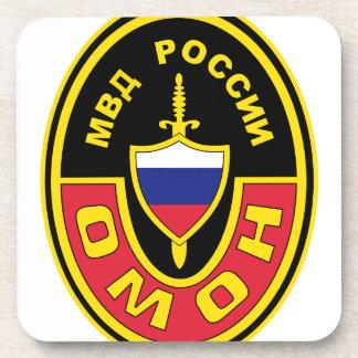 OMON Abzeichen Russland MVD OMON Spec Ops Abzeiche Beverage Coaster