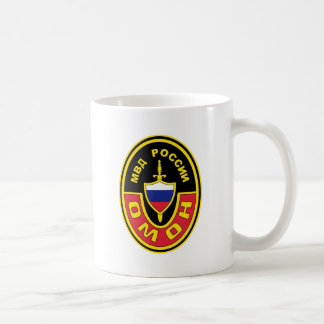 OMON Abzeichen Russland MVD OMON Spec Ops Abzeiche Classic White Coffee Mug