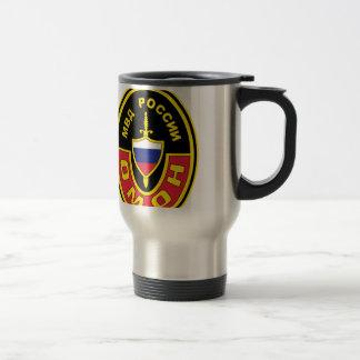 OMON Abzeichen Russland MVD OMON Spec Ops Abzeiche 15 Oz Stainless Steel Travel Mug
