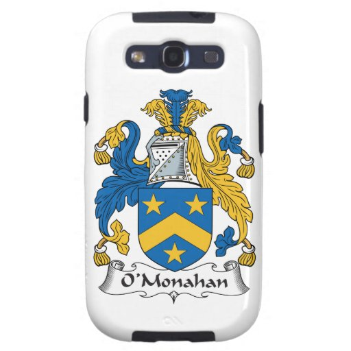 O'Monahan Family Crest Galaxy SIII Cases