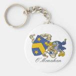 O'Monahan Family Crest Key Chain
