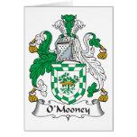 O'Mooney Family Crest Card