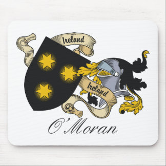 O'Moran Family Crest Mouse Mats