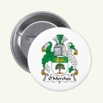 O'Morchoe Family Crest Button