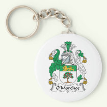 O'Morchoe Family Crest Keychain