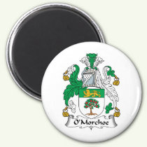 O'Morchoe Family Crest Magnet