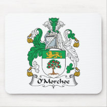 O'Morchoe Family Crest Mousepad