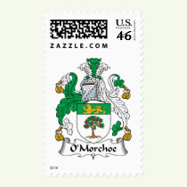 O'Morchoe Family Crest Stamps