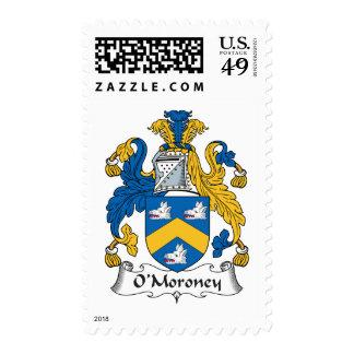 O'Moroney Family Crest Stamp