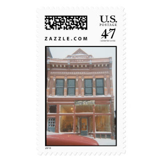 Omphale Gallery, Calumet, Michigan USA Postage