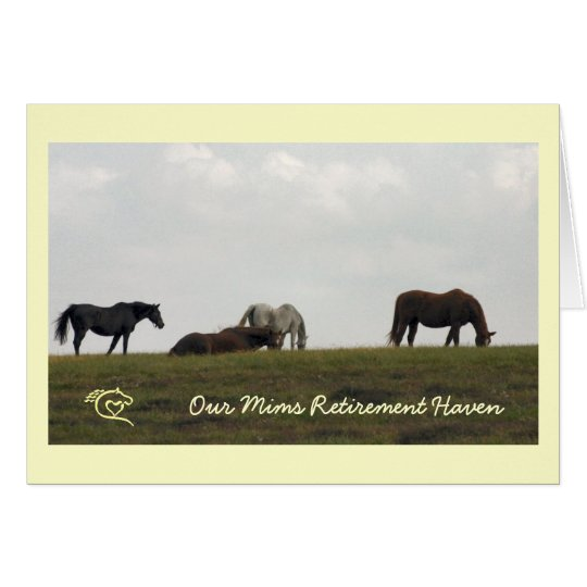 OMRH Mares on the Hill Card