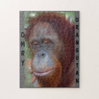 Omry Orangutan Wildlife Movie Star Jigsaw Puzzles
