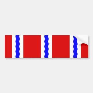 Omsk, Russia flag Bumper Sticker