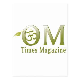 OMTimes Magazine eShop Postcard