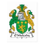 O'Mulcahy Family Crest Postcard