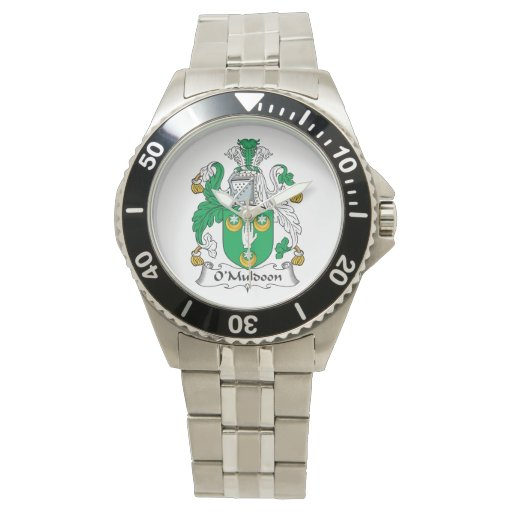 O'Muldoon Family Crest Wrist Watch