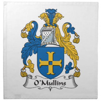 O'Mullins Family Crest Cloth Napkin