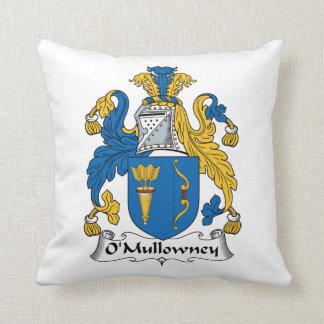 O'Mullowney Family Crest Pillow
