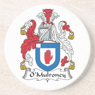 O'Mulroney Family Crest Coaster