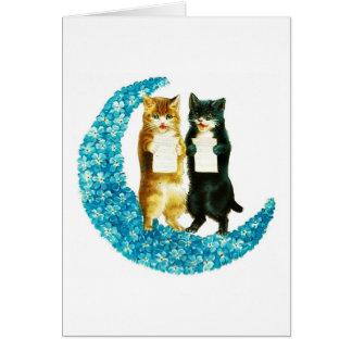 On a Blue Moon Card