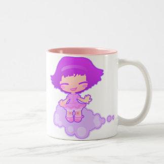 On a cloud Two-Tone coffee mug