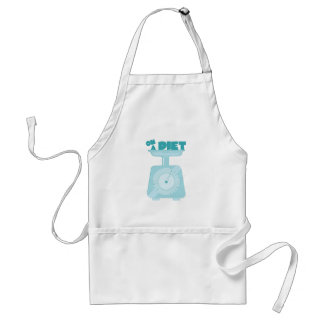 On a Diet Adult Apron