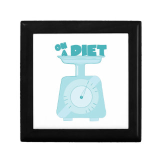On a Diet Trinket Boxes