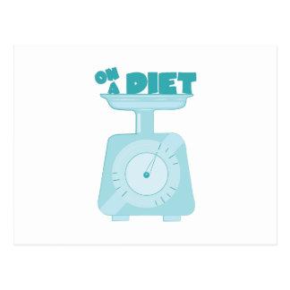 On a Diet Postcard