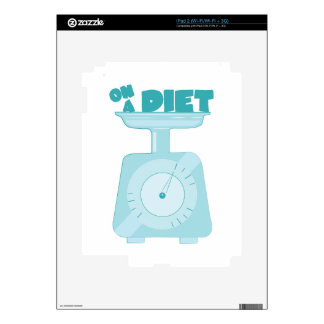 On a Diet Decal For The iPad 2