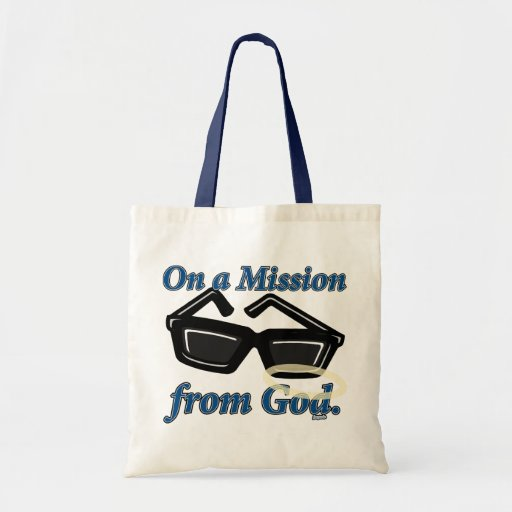 On a Mission from God Canvas Bag