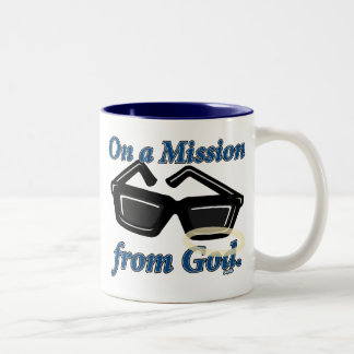 On a Mission from God Coffee Mugs