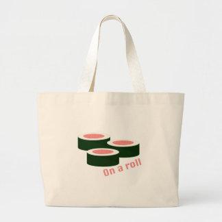 On A Roll Jumbo Tote Bag