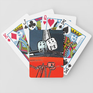 On A Roll Bicycle Playing Cards