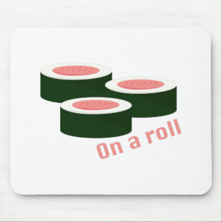 On A Roll Mouse Pad