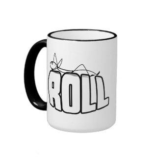 On a Roll Ringer Coffee Mug