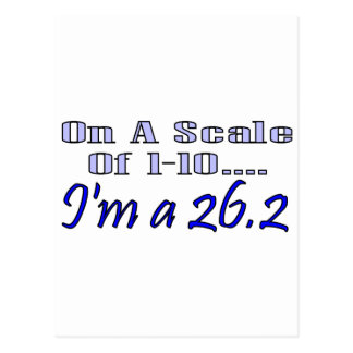 On A Scale Of 1-10 I m A 26 2 Postcard