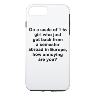 On a Scale of 1 to... iPhone 7 Plus Case